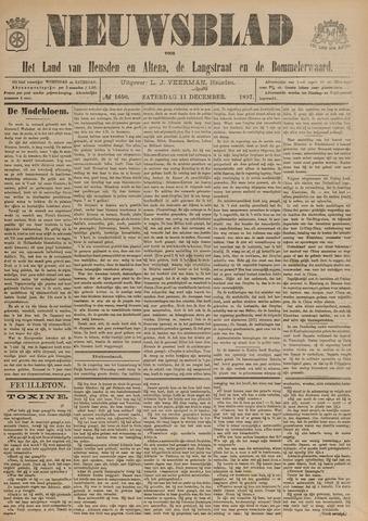 Nieuwsblad het land van Heusden en Altena de Langstraat en de Bommelerwaard 1897-12-11