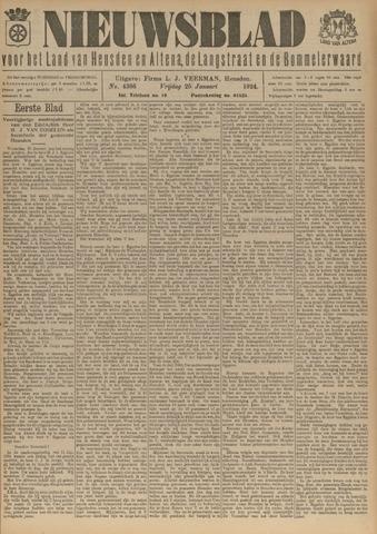 Nieuwsblad het land van Heusden en Altena de Langstraat en de Bommelerwaard 1924-01-25