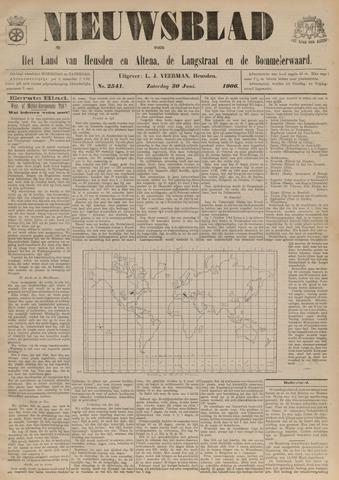 Nieuwsblad het land van Heusden en Altena de Langstraat en de Bommelerwaard 1906-06-30