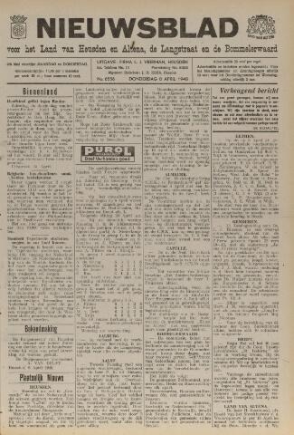 Nieuwsblad het land van Heusden en Altena de Langstraat en de Bommelerwaard 1948-04-08