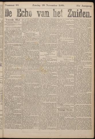 Echo van het Zuiden 1908-11-29