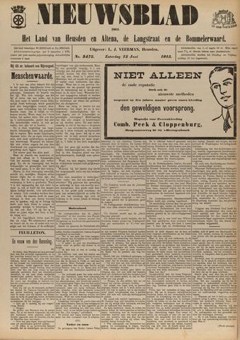 Nieuwsblad het land van Heusden en Altena de Langstraat en de Bommelerwaard 1915-06-12