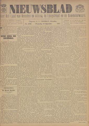 Nieuwsblad het land van Heusden en Altena de Langstraat en de Bommelerwaard 1917-09-12