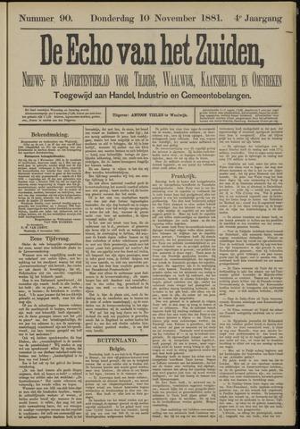 Echo van het Zuiden 1881-11-10