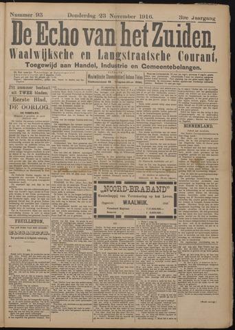 Echo van het Zuiden 1916-11-23