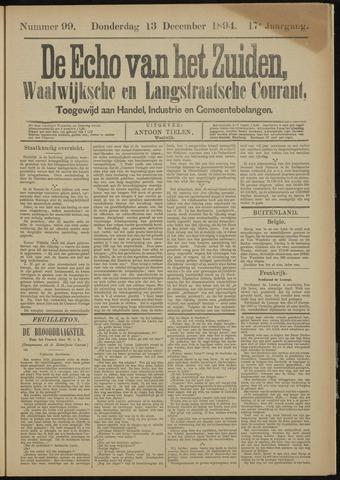 Echo van het Zuiden 1894-12-13