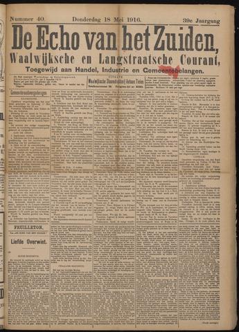Echo van het Zuiden 1916-05-18