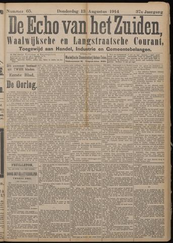 Echo van het Zuiden 1914-08-13