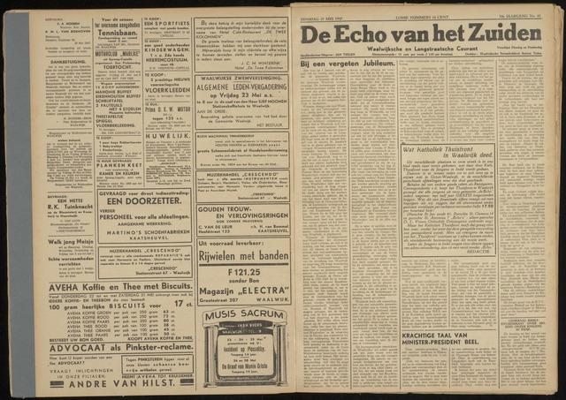 Echo van het Zuiden 1947-05-27