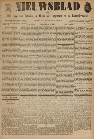 Nieuwsblad het land van Heusden en Altena de Langstraat en de Bommelerwaard 1895-01-26