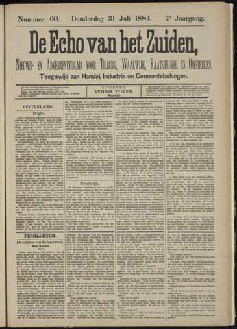 Echo van het Zuiden 1884-07-31