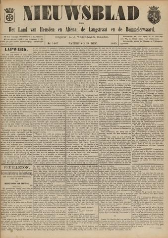 Nieuwsblad het land van Heusden en Altena de Langstraat en de Bommelerwaard 1895-12-28