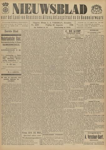 Nieuwsblad het land van Heusden en Altena de Langstraat en de Bommelerwaard 1924-08-22