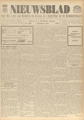 Nieuwsblad het land van Heusden en Altena de Langstraat en de Bommelerwaard 1918-04-06