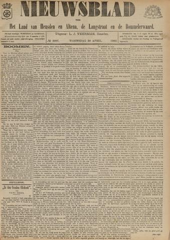 Nieuwsblad het land van Heusden en Altena de Langstraat en de Bommelerwaard 1902-04-30