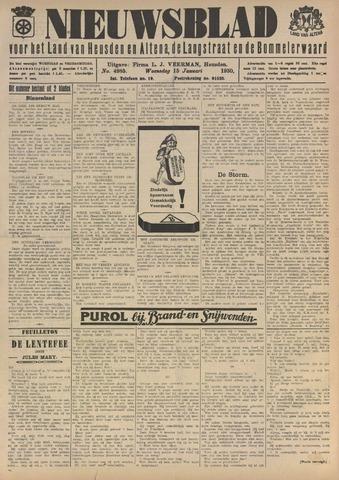 Nieuwsblad het land van Heusden en Altena de Langstraat en de Bommelerwaard 1930-01-15