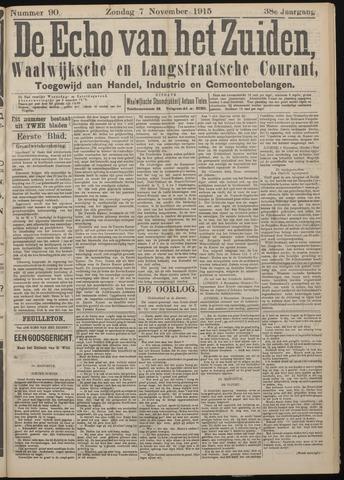 Echo van het Zuiden 1915-11-07