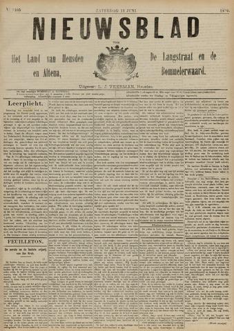 Nieuwsblad het land van Heusden en Altena de Langstraat en de Bommelerwaard 1892-06-11