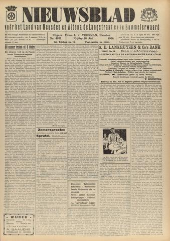 Nieuwsblad het land van Heusden en Altena de Langstraat en de Bommelerwaard 1928-07-20