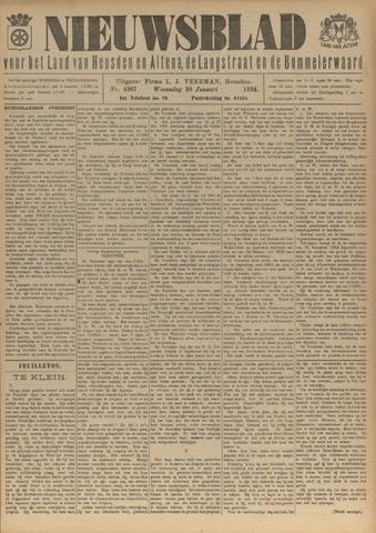Nieuwsblad het land van Heusden en Altena de Langstraat en de Bommelerwaard 1924-01-30