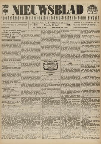 Nieuwsblad het land van Heusden en Altena de Langstraat en de Bommelerwaard 1925-06-10