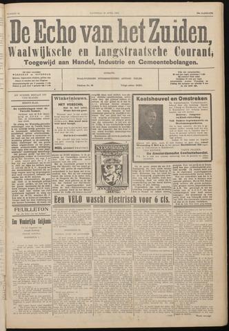 Echo van het Zuiden 1933-04-29