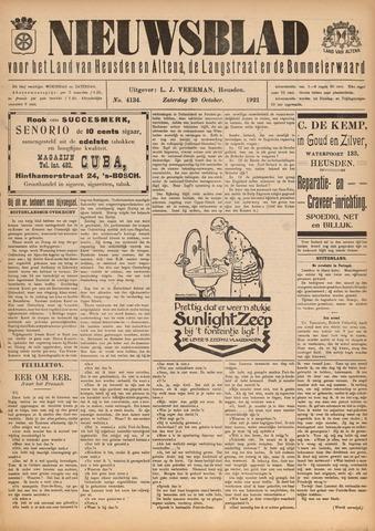 Nieuwsblad het land van Heusden en Altena de Langstraat en de Bommelerwaard 1921-10-29