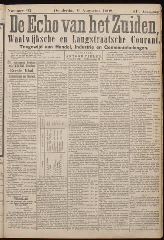 Echo van het Zuiden 1908-08-06