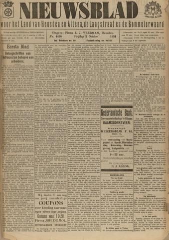 Nieuwsblad het land van Heusden en Altena de Langstraat en de Bommelerwaard 1924-10-03