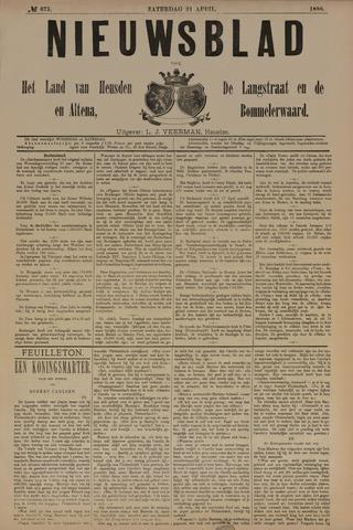 Nieuwsblad het land van Heusden en Altena de Langstraat en de Bommelerwaard 1888-04-21
