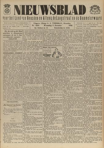 Nieuwsblad het land van Heusden en Altena de Langstraat en de Bommelerwaard 1924-12-03