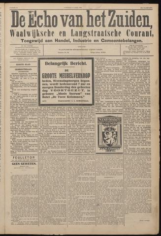 Echo van het Zuiden 1926-04-21