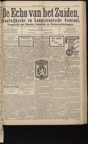 Echo van het Zuiden 1932-03-05