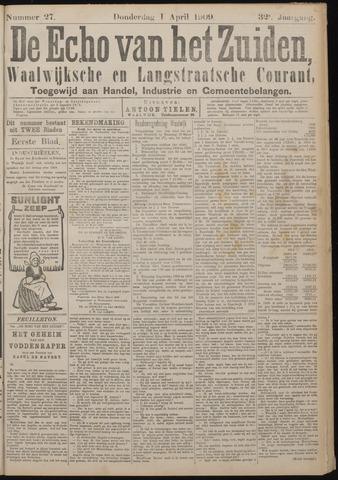Echo van het Zuiden 1909-04-01