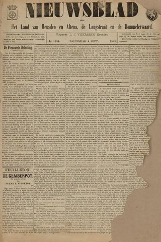 Nieuwsblad het land van Heusden en Altena de Langstraat en de Bommelerwaard 1895-09-04