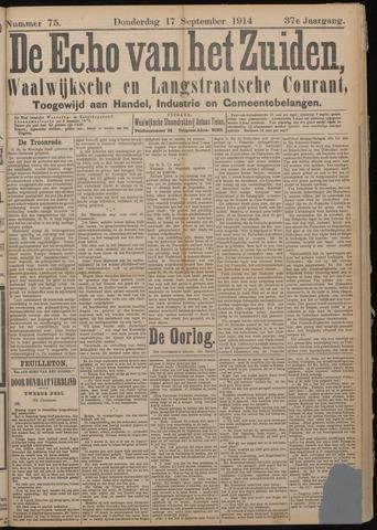 Echo van het Zuiden 1914-09-17