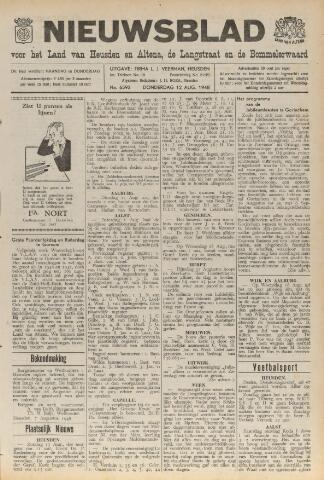 Nieuwsblad het land van Heusden en Altena de Langstraat en de Bommelerwaard 1948-08-12