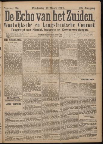 Echo van het Zuiden 1916-03-16