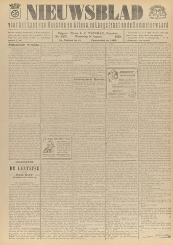 Nieuwsblad het land van Heusden en Altena de Langstraat en de Bommelerwaard 1929-01-09