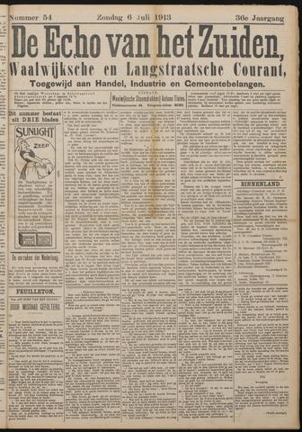 Echo van het Zuiden 1913-07-06
