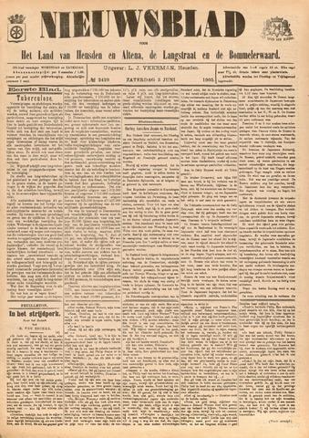 Nieuwsblad het land van Heusden en Altena de Langstraat en de Bommelerwaard 1905-06-03