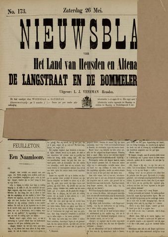 Nieuwsblad het land van Heusden en Altena de Langstraat en de Bommelerwaard 1883-05-26