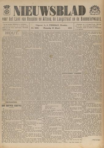Nieuwsblad het land van Heusden en Altena de Langstraat en de Bommelerwaard 1919-03-19