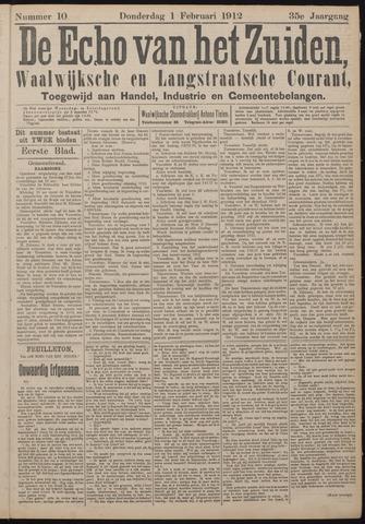 Echo van het Zuiden 1912-02-01