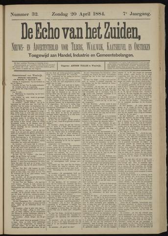 Echo van het Zuiden 1884-04-20
