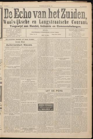 Echo van het Zuiden 1941-01-22