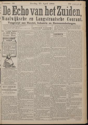 Echo van het Zuiden 1909-04-25