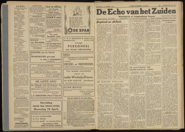 Echo van het Zuiden 1947-04-15