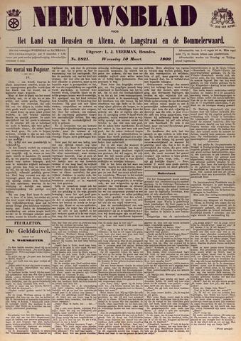 Nieuwsblad het land van Heusden en Altena de Langstraat en de Bommelerwaard 1909-03-10