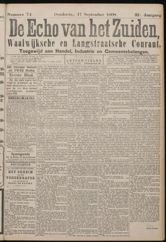 Echo van het Zuiden 1908-09-17